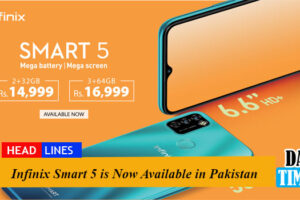 Infinix Smart 5 is Now Available in Pakistan