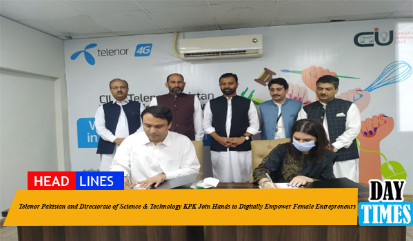 Telenor Pakistan and Directorate of Science & Technology KPK Join Hands to Digitally Empower Female Entrepreneurs