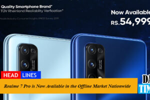 Realme 7 Pro is Now Available in the Offline Market Nationwide