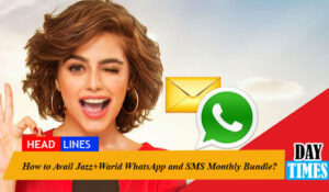 How to Avail Jazz+Warid WhatsApp and SMS Monthly Bundle?