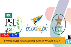 Bookme.pk Appointed Ticketing Partners for HBL PSL 6