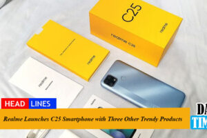 Realme Launches C25 Smartphone with Three Other Trendy Products