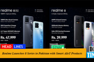 Realme Launches 8 Series in Pakistan with Smart AIoT Products