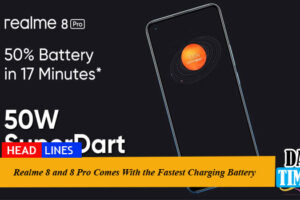 Realme 8 and 8 Pro Come With the Fastest Charging Batteries