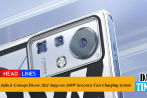 Infinix Concept Phone 2021 Supports 160W Seriously Fast Charging System