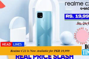 Realme C21 is Now Available for PKR 19,999