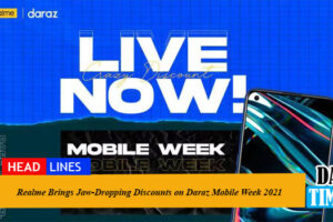 Realme Brings Jaw-Dropping Discounts on Daraz Mobile Week 2021