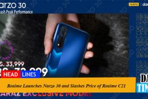 Realme Launches Narzo 30 and Slashes Price of Realme C21