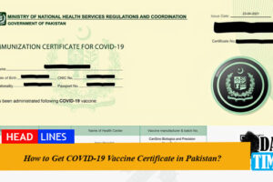 How to Get COVID-19 Vaccine Certificate in Pakistan?