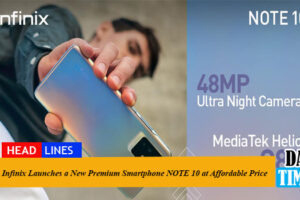Infinix Launches a New Premium Smartphone NOTE 10 at Affordable Price