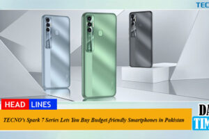 TECNO's Spark 7 Series Lets You Buy Budget-friendly Smartphones in Pakistan