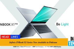 Infinix INBook X1 Series Now Available in Pakistan