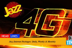Jazz Internet Packages 2021: Daily, Weekly & Monthly