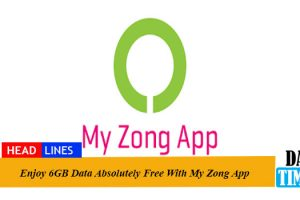 Enjoy 6GB Data Absolutely Free With My Zong App