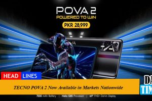 TECNO POVA 2 Now Available in Markets Nationwide