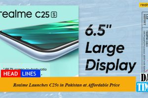 Realme Launches C25s in Pakistan at Affordable Price