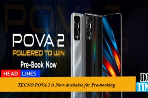 TECNO POVA 2 is Now Available for Pre-booking
