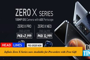 Infinix Zero X Series Now Available for Pre-orders with Free Gift