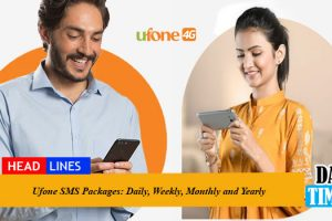 Ufone SMS Packages: Daily, Weekly, Monthly and Yearly